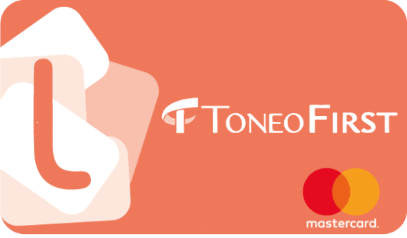 Use your bitcoins on a Toneo First Prepaid card